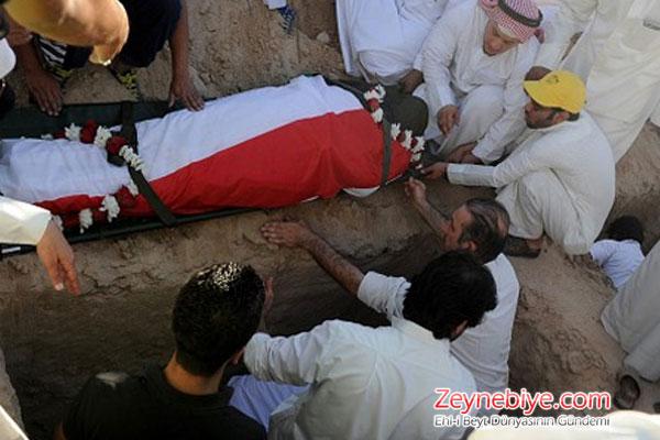 Kuveyt Halkı ?Mihrap Şehitlerini? Uğurladı