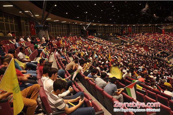 ZHGM'den İhtişamlı Uluslararası Kudüs Günü Program