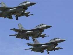 Katil İsrail Jetleri Konya Semalarında