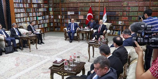Türkiye, Irak'ın Toprak Bütünlüğünü Destekliyor