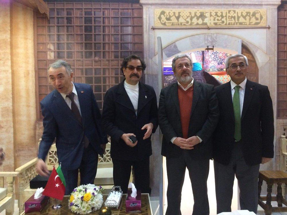 İranlı Sanatçılar Konya'daki Mevlana Etkinliklerinde