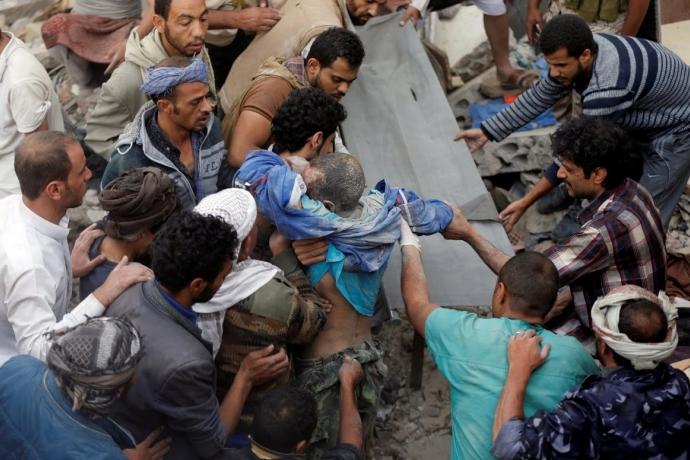 Yemen'e 100 Bin Füzeli Saldırı