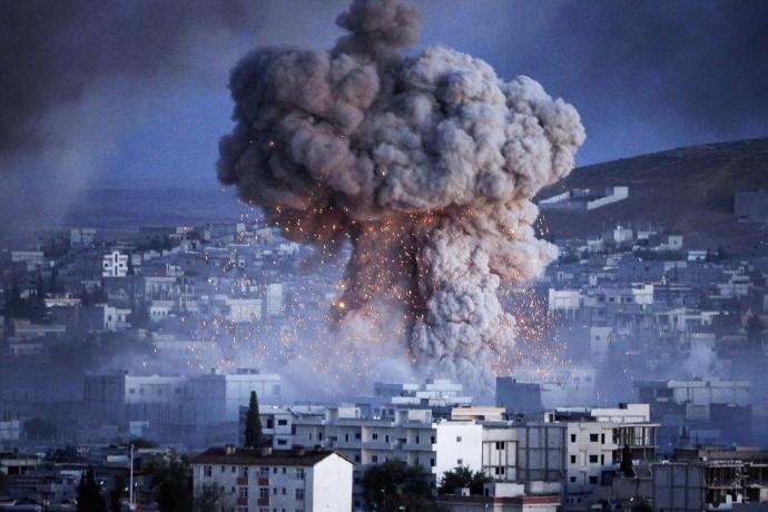 Koalisyon Deyr Ez Zor'u Yine Vurdu: Ölü ve Yaralılar Var