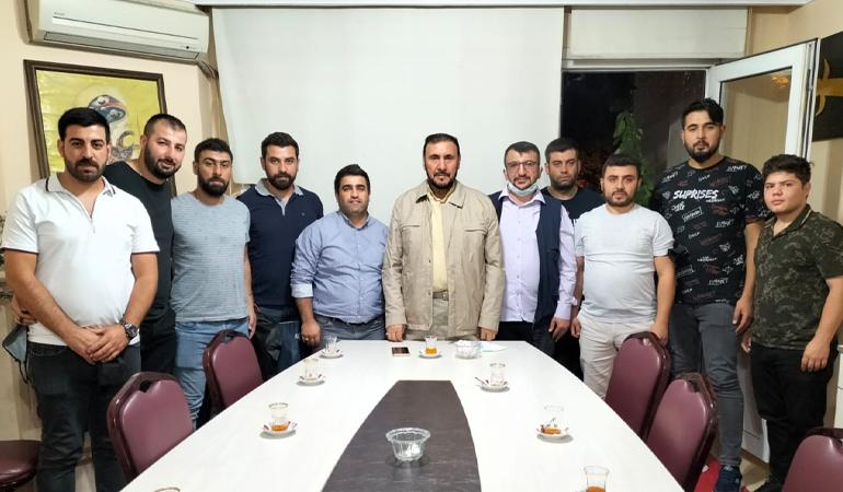 Hz. Ali Camii Gençliğinden (HAG) Özgündüz'e Ziyaret (Foto)