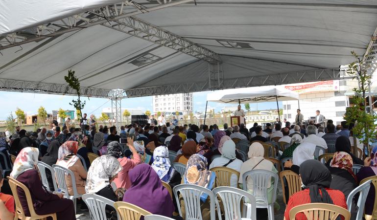 Karaağaç İmam Ali (a.s) Camii İbadete Açıldı (Foto)