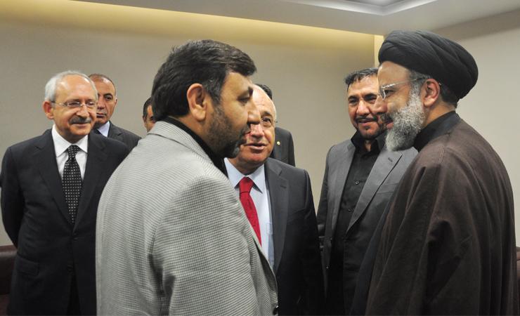 ÖZGÜNDÜZ'den İran Cumhurbaşkanı Reisi'ye Tebrik
