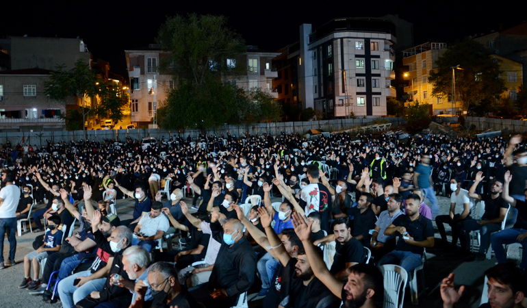 Zeynebiye'de 1 Muharrem! (FOTO)