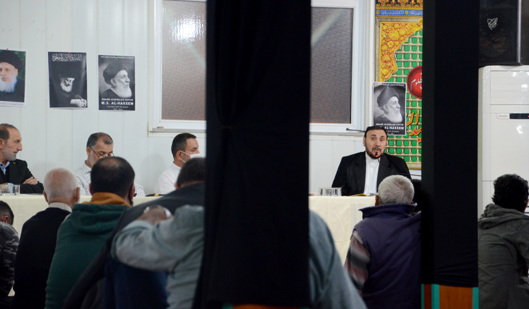 Zeynebiye'de El-Hekim İçin Taziye Meclisi (Foto)