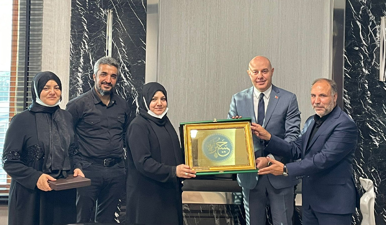Zeynebiye ve Zehra Ana'dan Büyükelçi'ye Ziyaret